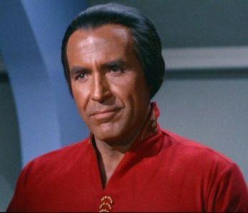 "Ricardo Moltalbán es Khan para Star Trek ""Space Seed"" (1967)"