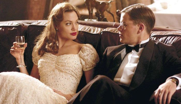 "Angelina Jolie y Matt Damon en ""El buen pastor"" (2006)"