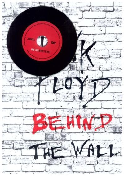 """Poster y disco DVD de """"Pink Floyd: Behind The Wall"""""""