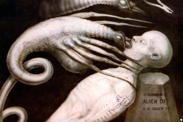 Ilustración Giger