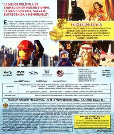 La Lego Película (2014) en Blu-Ray