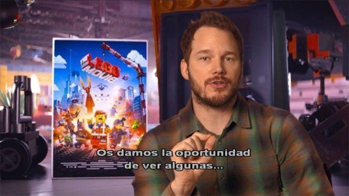 La Lego Película (2014) extras en el Blu-Ray