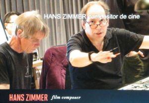 """El compositor Hans Zimmer en los extras de """"The Amazing Spider-Man 2: El Poder de Electro"""""""