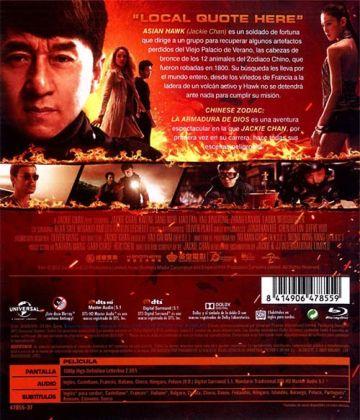 Chinese Zodiac: La armadura de Dios (2012)