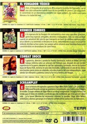 Edición Especial 40 Aniversario TROMA (reseñas DVD en AudioVideoHD.com)