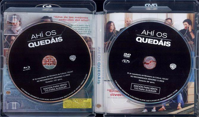 AHÍ OS QUEDÁIS (Análisis en AudioVideoHD.com)
