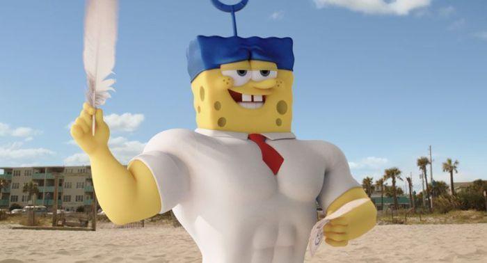Bob Esponja: Un héroe fuera del agua (Analizado Blu Ray en AudioVideoHD.com)