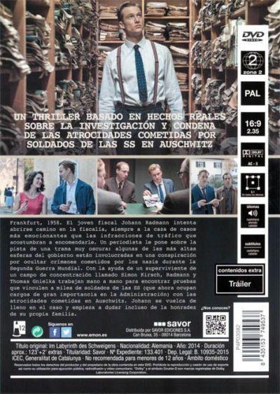 LA CONSPIRACIÓN DEL SILENCIO (análisis del DVD) AudioVideoHD.com