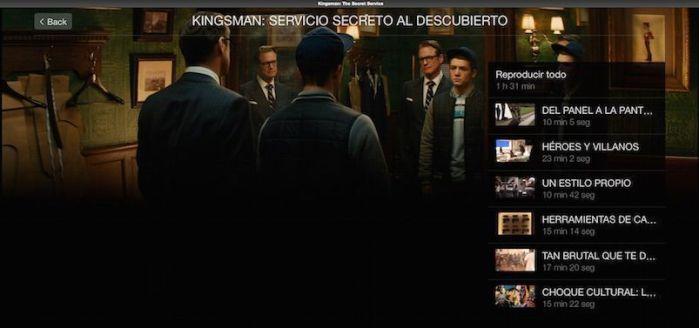 "Extras ""Kingsman: Servicio Secreto"" (2015) AudioVideoHD.com"