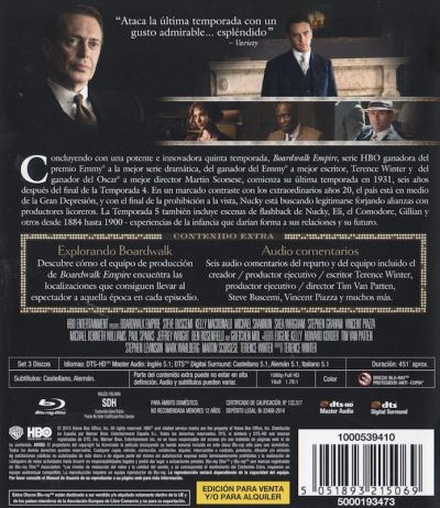 Boardwalk Empire Temporada 5 (Análisis del Blu-Ray) AudioVideoHD.com