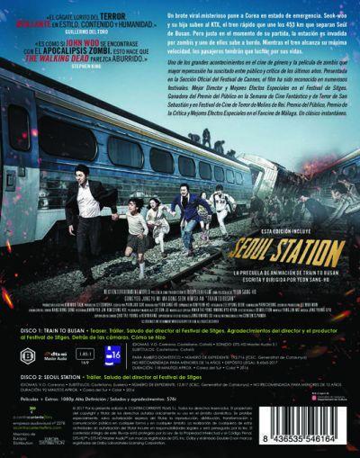Train to Busan (Blu-Ray Edición Limitada) Análisis en AudioVideoHD.com