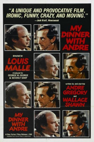 Mi cena con André (1981) Análisis del Blu-Ray en AudioVideoHD.com