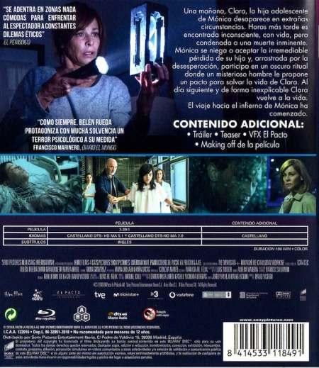 El Pacto (2018) Blu-Ray analizado en AudioVIdeoHD.com