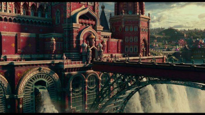 El Cascanueces y los Cuatro Reinos (2018) Analizamos la edición en Blu-ray. AudioVideoHD.com