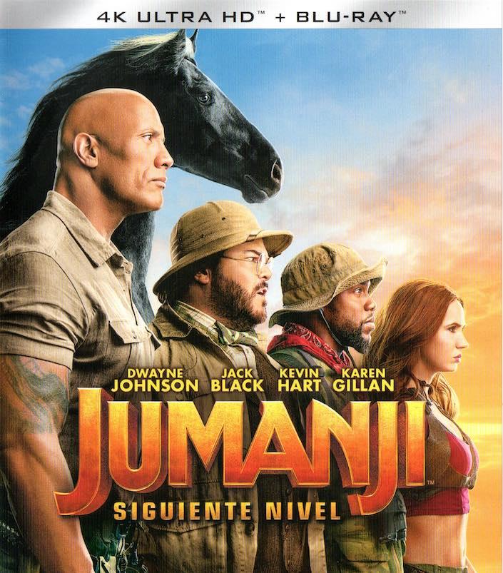 UHD-4K de Jumanji: Siguiente Nivel - 2019
