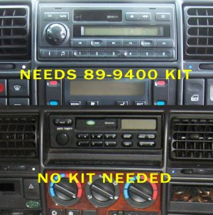 1997 Land Rover Discovery Headunit Audio Radio Wiring