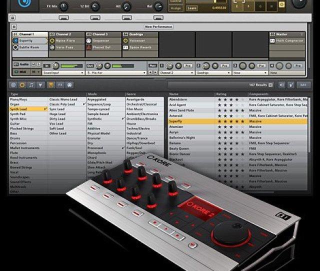 Native Instruments Kore V2 0 Vsti Rtas Hybrid Dvdr Repack Dynamics Screenshot