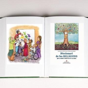 Presentació del Diccionari de les religions per a noies i nois de 10 a 14 anys. 24/10/17
