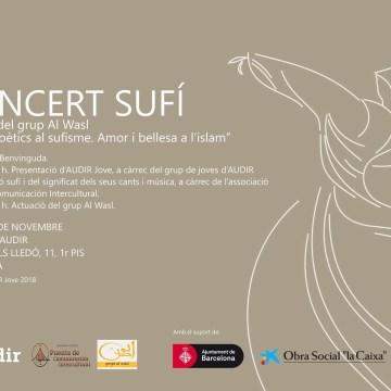 15/11/18 Concert Sufí- AUDIR Jove