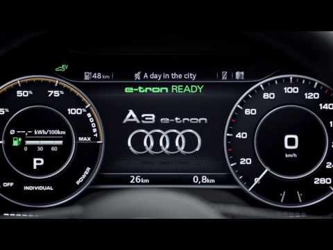 2017 Audi A3 e-tron Overview