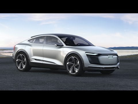 It's evolution! The Audi e-tron Sportback concept.