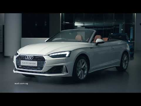 Audi presents the new Audi A5 range, our latest design icons