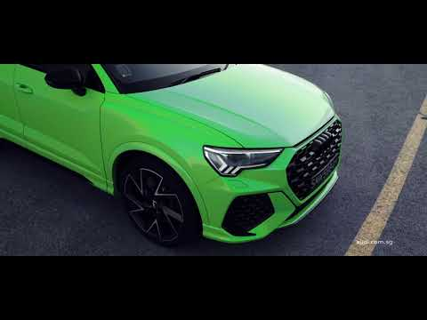 The RS Q3 Sportback- high performance compact SUV