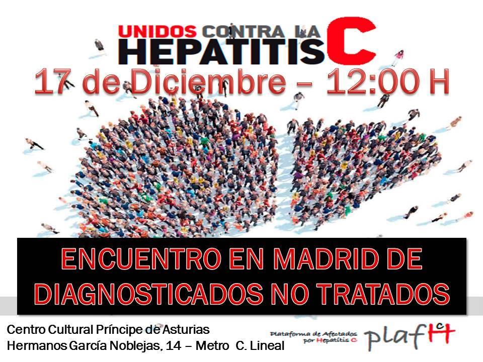 PLAFHC – Encuentro De Diagnosticados No Tratados. Madrid 17/12/2016
