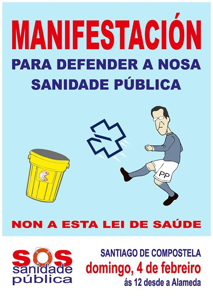 Cartel_Manifestación Santiago de Compostela_2018-02-04