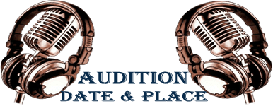 audition date and place
