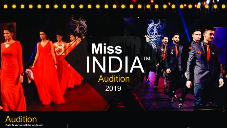 Miss India 2019 Audition Dates, Places & Online Registration