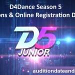 D4Dance 2019 Season 5 – Auditions & Online Registration Details