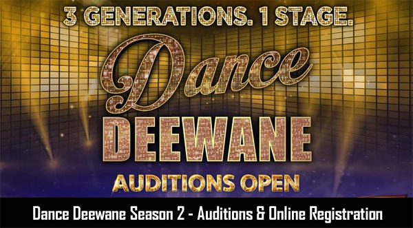 Colors Dance Deewane 2019 Season 2 Registration