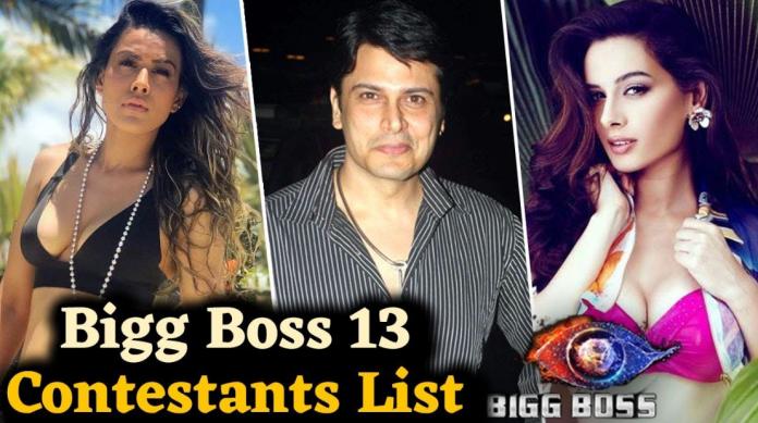Bigg Boss 13 Contestants
