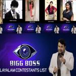 Bigg Boss Malayalam Season 2 Contestants Name