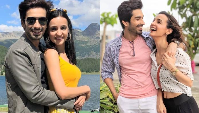 Sanaya Irani and Mohit Sehgal - Nach Baliye Season 8 2017 Contestants