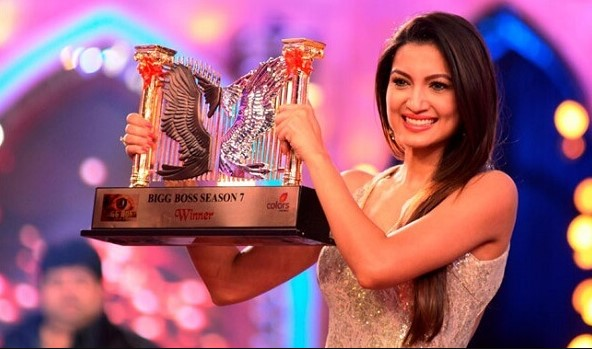 Gauhar Khan– Bigg BossSeason 7 Winner 2013