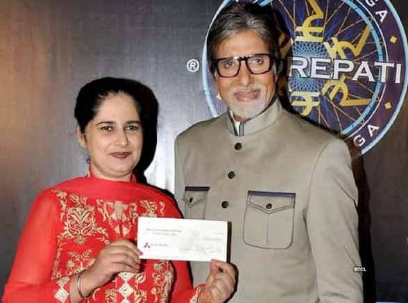 KBC Season 6 Winner Manoj Kumar Raina and Sunmeet Kaur