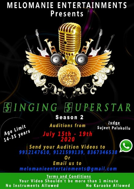 Singing Superstar Come Up With Season 2 Registration- MeloManie Entertainments