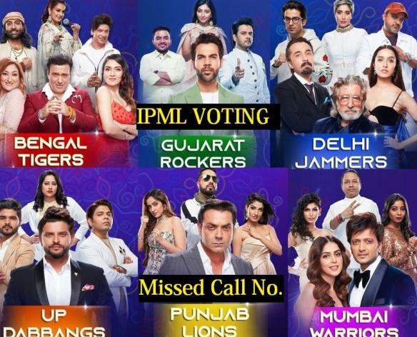 Indian Pro Music League Voting