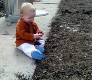 Girls love dirt!