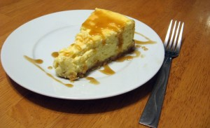 White Chocolate Macadamia Nut Cheesecake ~ The Tall and the Short of It