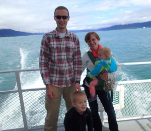 The family on our Wildlife Cruise.