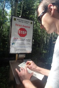 Hell's Hole Permit Station