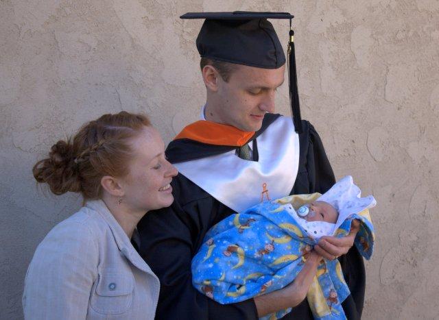 2010 - Noel's Graduation and Cooper's Debut