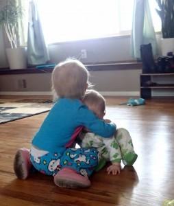Cousin Hugs