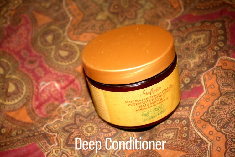 AudreyCan - Wash Day Diaries - Autumn 2015 - Deep Condition 1