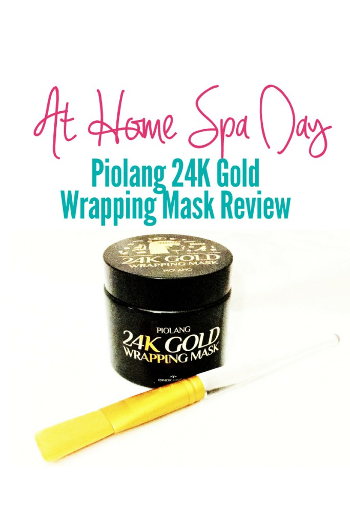 At Home Spa Day: Piolang 24K Gold Wrapping Mask Review