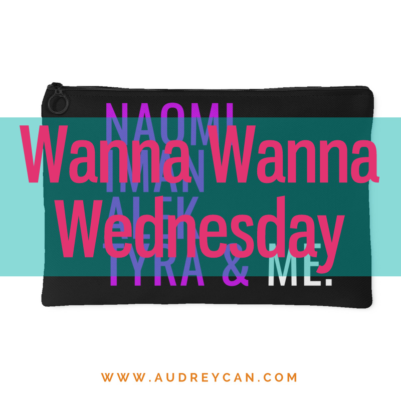 Wanna Wanna Wednesday: Black Supermodels & Me Pouch from Obsessorized