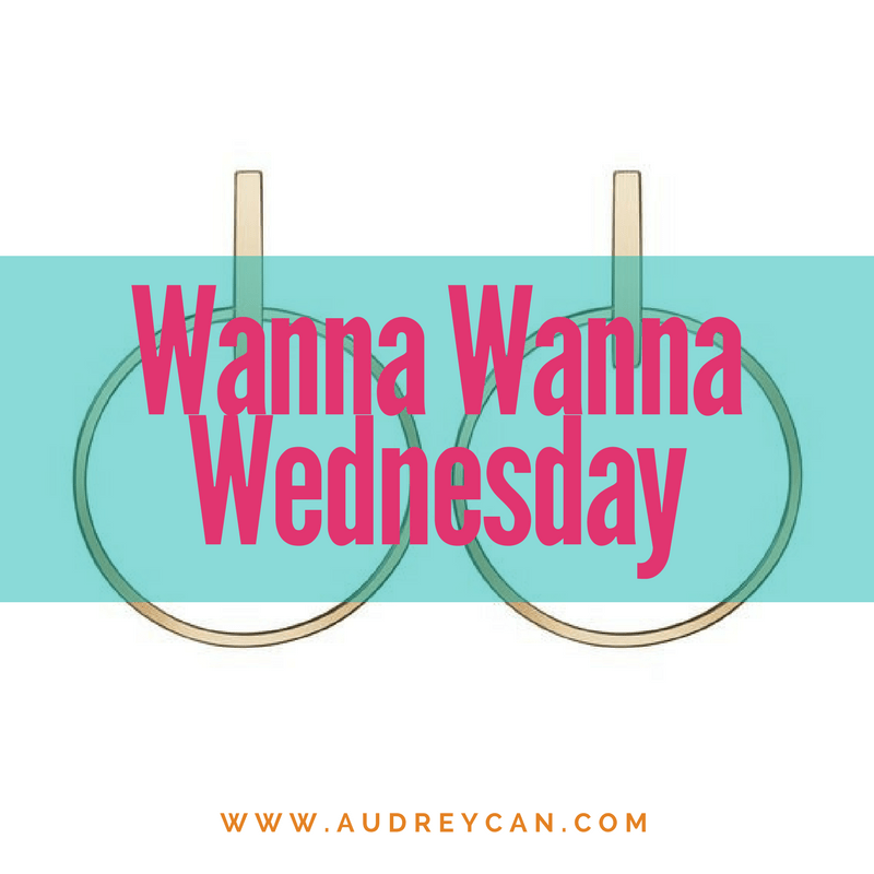 Wanna Wanna Wednesday: Circle Earrings from AUrate New York